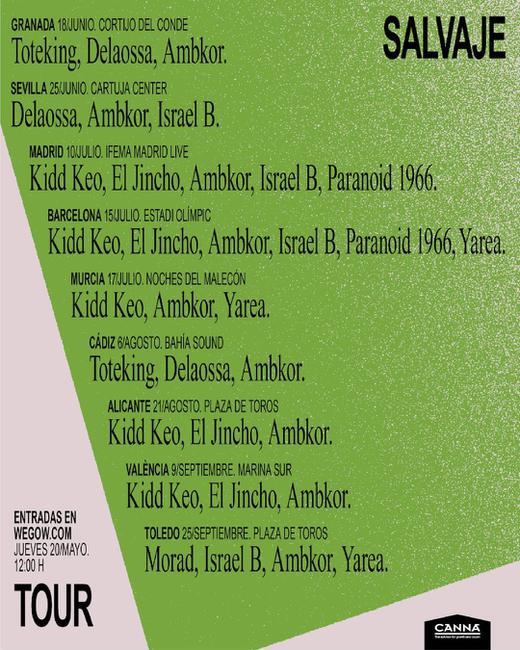 Ambkor + Kidd Keo + El jincho + Israel B