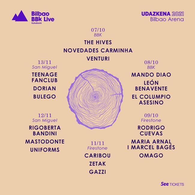 BBK Live Udazkena 2021