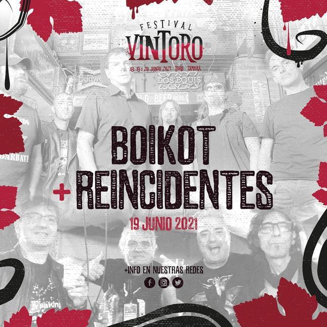 Boikot + Reincidentes
