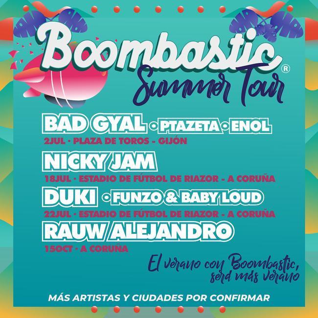 Boombastic Summer Tour 2021