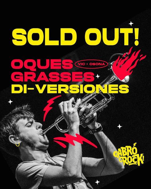 Oques Grasses + Orquesta Di-versiones