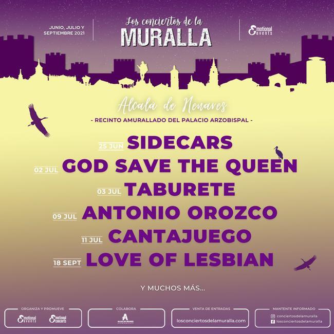 Los conciertos de la muralla 2021