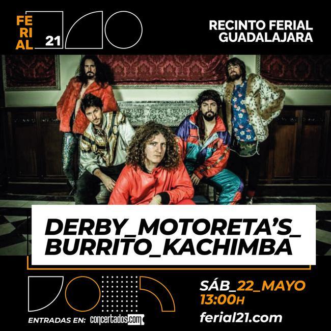 Derby Motoreta's Burrito Kachimba
