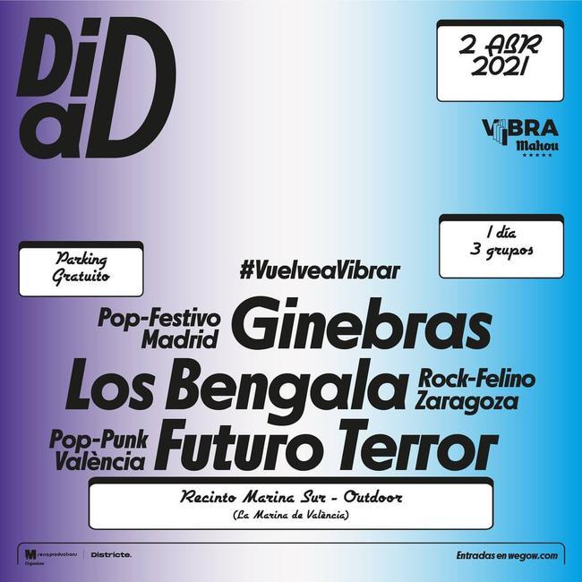 Ginebras + Los bengala + Futuro Terror