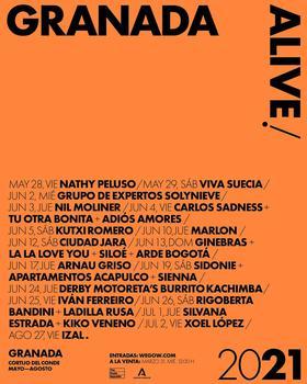 Ginebras + La la love you + Siloé + Arde Bogotá