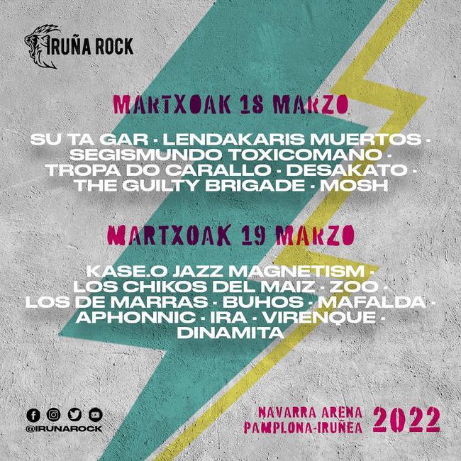 Iruña Rock 2022