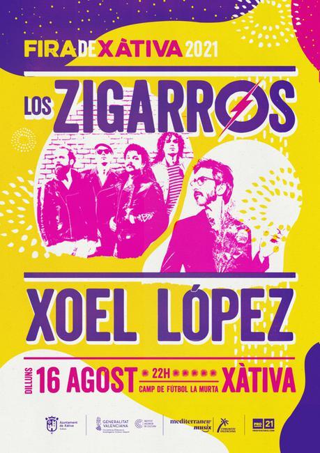Los zigarros + Xoel López