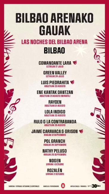 Noches del Bilbao Arena