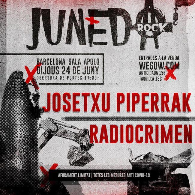 Josetxu Piperrak + Radiocrimen