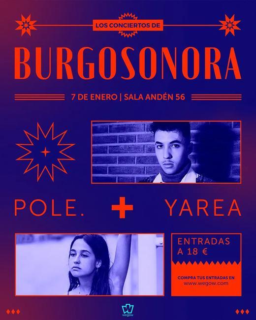 Pole. + Yarea