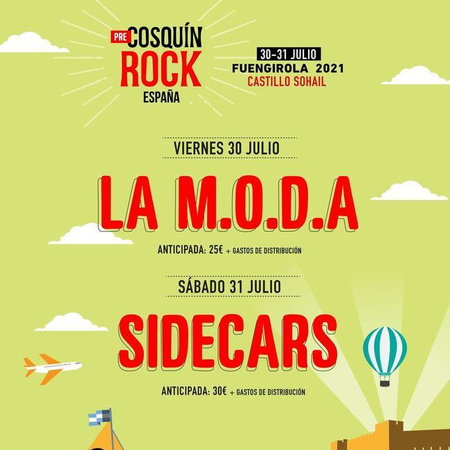 Pre-Cosquín Rock España 2021