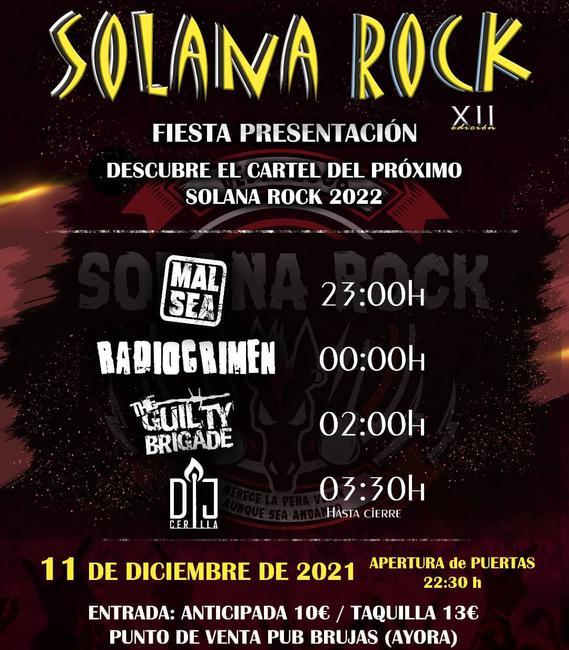 Presentación Solana Rock 2022