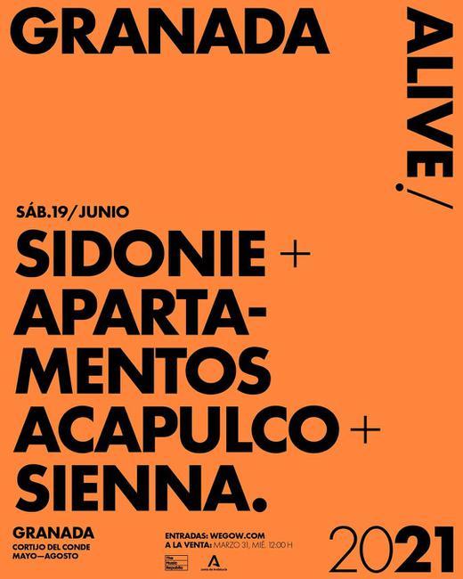 Sidonie + Apartamentos Acapulco + Sienna