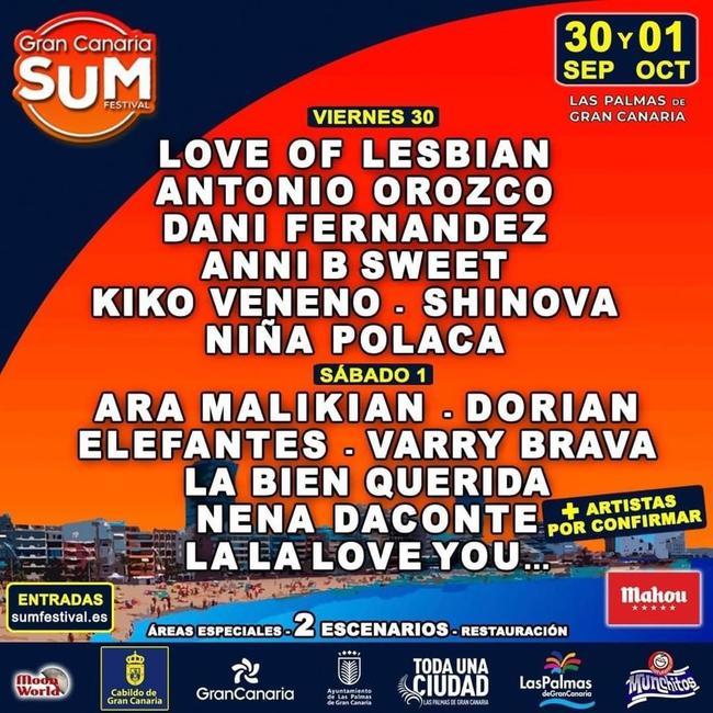 Gran Canaria Sum Festival 2022