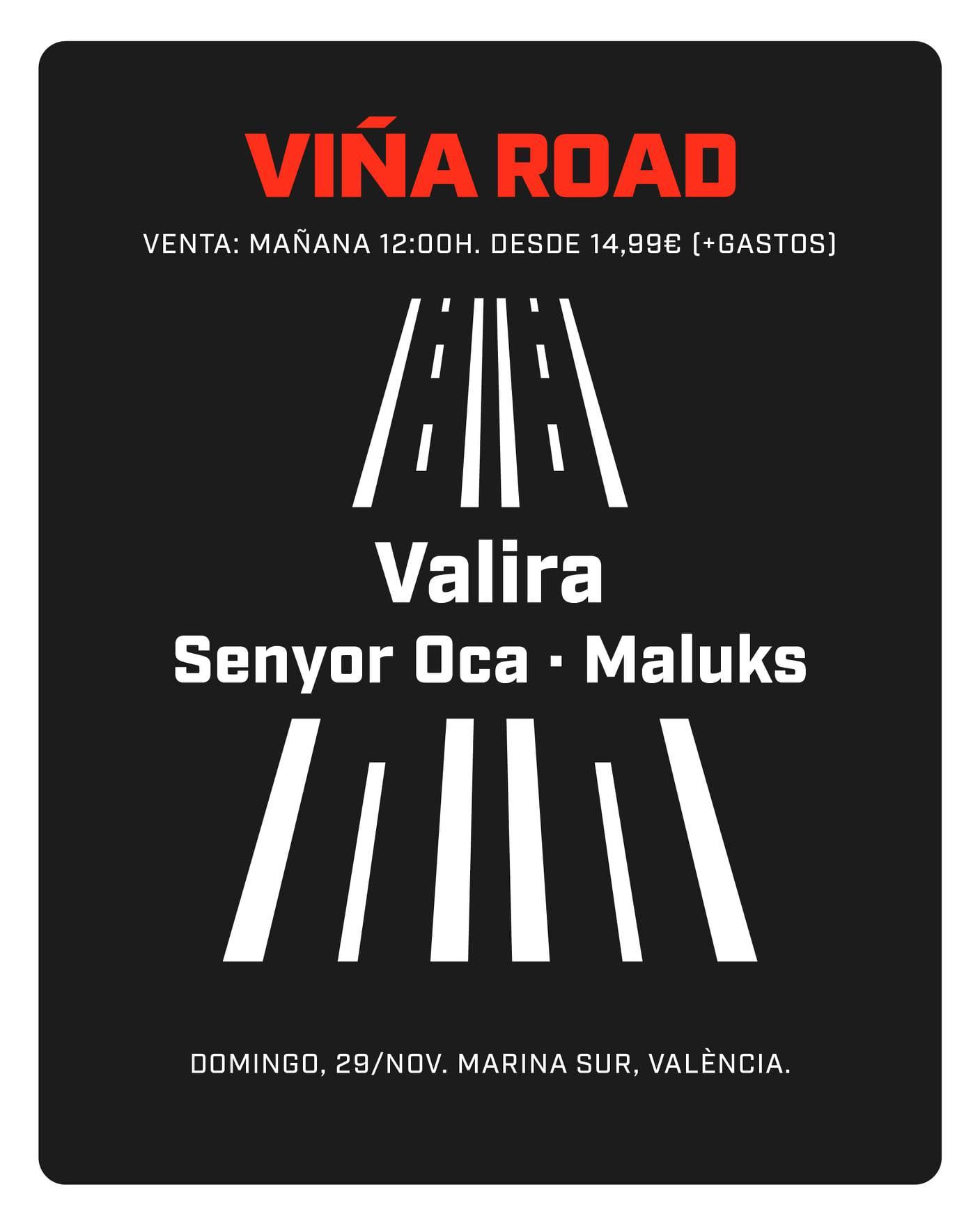 Viña Road Valencia