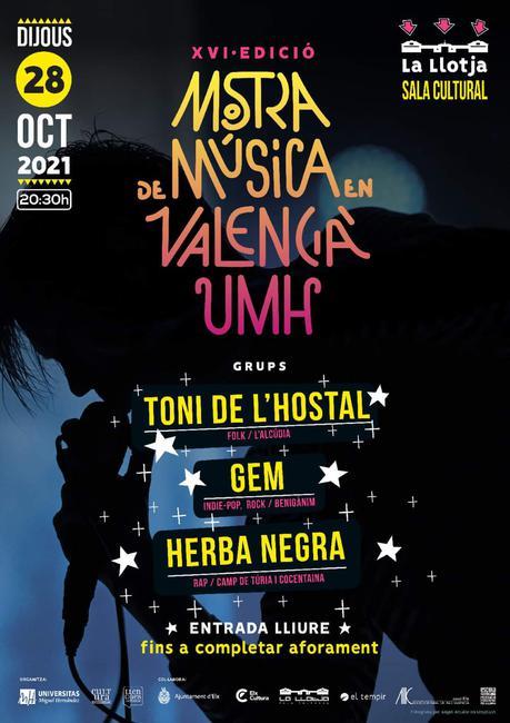 XVI Mostra de Música en Valencià