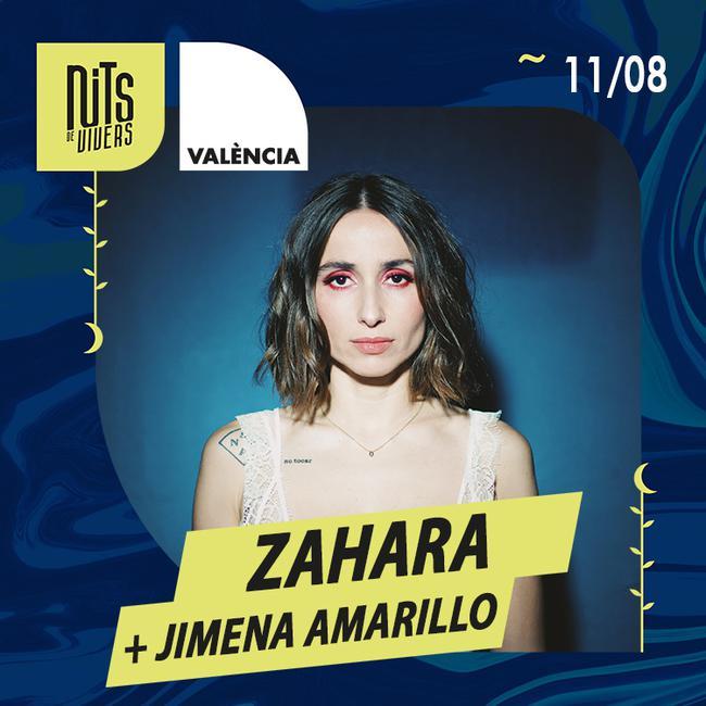 Zahara + Jimena Amarillo